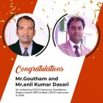 A hearty Congratulations to Mr.Goutham and Mr.Anil Kumar Dasari